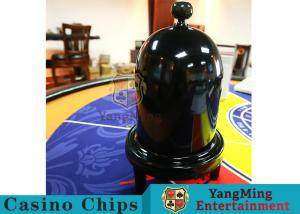 China Security Fair Casino Game Accessories Black Color Automatic / Manual Dice Cup on sale