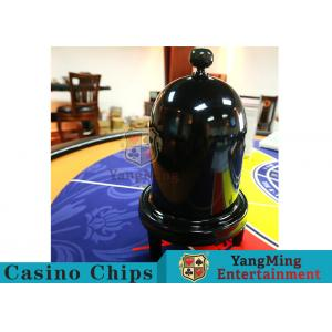 China Security Fair Casino Game Accessories Black Color Automatic / Manual Dice Cup supplier