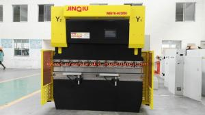 China Steel Panel / Box Shaped CNC Press Brake Machine 2000mm Length Section Punching on sale