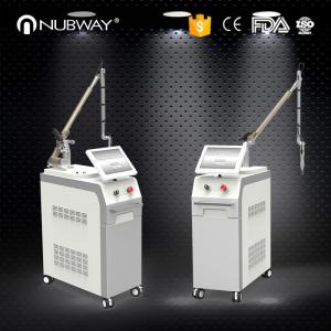 China Nubway Laser Tattoo Removal Pigmentation Q Switched Nd Yag Laser Machine on sale