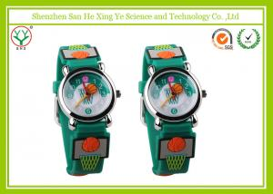 China Customized 3D Drawing Silicone Jelly Watch For Unisex Teenage on sale