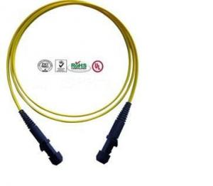 China Bouncing Type Fiber Optic Patchcords Single Mode , Double Core Patch Cord on sale