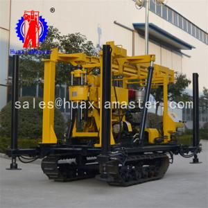 China Chian In Stock XYD-130 Crawler Water Well Drilling Rig Rotary Drilling Machine For Sale on sale