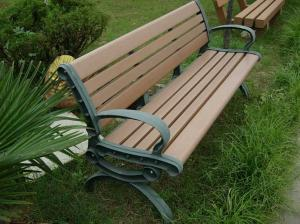 China Eco - friendly Recyclable Wood Plastic Composite Bench , Composite Park Benches on sale