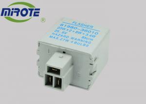 China Grey Medium Electronic Led Flasher ,  3 Terminals Electronic Flasher For Led Turn Signals 12V Electonic on sale