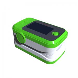 China Spo2 Monitor Finger Pulse Oximeter , Oxygen Saturation Monitor CE Figertip supplier
