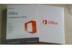 China 3.0 USB Media Microsoft Office 2016 Pro Plus Key License For 1 Windows PC on sale