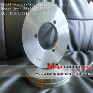China metal bond Automobile glass diamond grinding wheel Mary@moresuperhard.com supplier