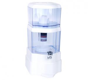 China Flat Cover Household Water Purifier Mineral Alkaline Water Pot Tourmaline Ceramic Ball Cartridge on sale