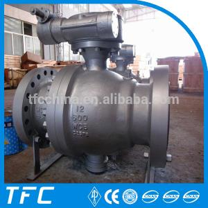 China API 607 fire safe flanged ball valve on sale