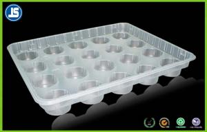 China Pharmaceutical Blister Packaging Tray For Biscuit Macaroon , Soft Transparent PVC on sale
