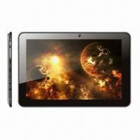 10.1-inch Slim Tablet PCs, Android 4.1, All winner ADual Core 1.2GHz CPU, 2 Cameras, Wi-Fi/Bluetooth