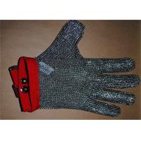 Anti-spear Knife Stainless Steel Gloves With Five Fingers For Slaughterhouse