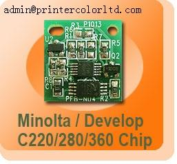China toner chip for Triumph-Adler CD1230/1240/1250 on sale