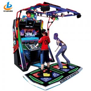 China Electronic Dance Coin Operated Game Machine 3D Engine Dance Fame Advanced Mode on sale