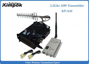 China 30KM Long Range Wireless Transmitter and Receiver 1.2Ghz  4 Channels Video Sender on sale