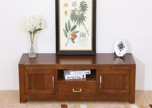 China Cherry Wood  Living Room TV Stand Modern Tv Units Table Furniture Antique Style on sale