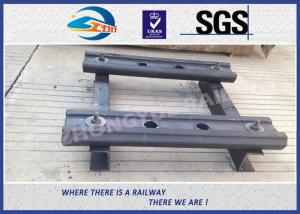Quality 4 Holes BS80A Railway Fish Plate Rail Joint Bars steel fish plates With Plain for sale
