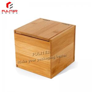 China Custom Natural Tuck Bamboo Jewelry Packaging Boxes Laster Cut Engraved on sale