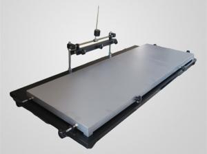 China 1.2m LED Stencil Printer 1300*240mm Manually Solder Paste Printer For LED strip on sale