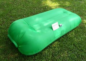 China Inflatable Portable Beach Sleeping Lazy Air Bag For Outdoor Size 250*120cm on sale