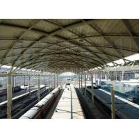 China Prefabricated Railway Station Steel Frame Structure With Space Frame Roof on sale