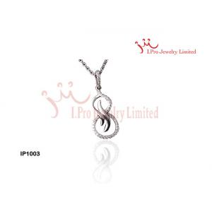 China Ladies 925 Sterling Silver Pendants Necklace With Chain Pendant IP1003 on sale