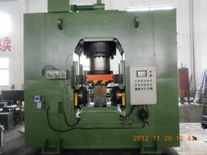 China High Accuracy 63 Ton Hydraulic Extrusion Press For Fishing Reel PLC Control on sale