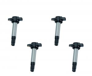 China 4x Ignition Coils Pack for Honda Civic 2006-2011 1.8L R18A1 R18A4 30520-RNA-A01 Quality Ignition coil on sale