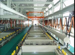 China Profile Aluminium Anodizing Machine Eco Friendly Electrode Coating Vertical Design on sale