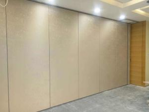 China Aluminum Acoustic Movable Partition Walls / Function Room Sliding Folding Partition on sale