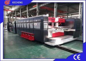 China Automatic Control Bottom Printing Flexo Printer Slotter Folder Gluer Inline High Speed on sale