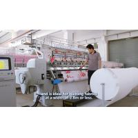Textile Machinery Single Head Lock Stitch Quilting Machine 2..8m For Air Conditioning Quilt