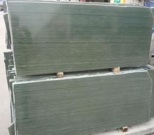 China Decorative Green Wood Vein Marble texture Slab Tile on sale