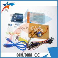 China UNO R3 Based Starter Kit For Arduino , Flexible Electronics Learning Kit on sale