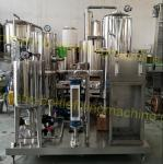 High Strength SUS304 Automatic Drink Mixing Machine For Soft / Energy Drink