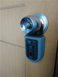 China Коробка замка кнопки сопротивления погоды портативная, Локбокс Кейсафе для ключей автомобиля on sale
