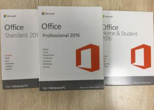 China Full Version Microsoft Office Professional Plus 2016 License Key / Retail Package on sale