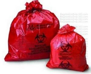 China Medical waste bags, collection bags, waste sacks, poop bag, litter bag, trash bags on sale