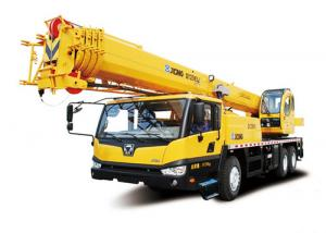 China Load Sensing Hydraulic Mobile Crane With Retractable Boom 25 Ton on sale