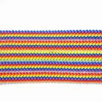 5cm colors strip elastic webbing, for clothing