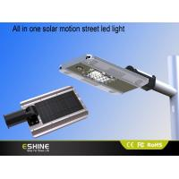 China 1800 Lumens Solar Street Led Light / Solar Power Motion Sensor Light on sale