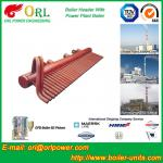 100 Ton Boiler Header Manifolds Carbon Steel Boiler Unit for Natural Gas Industry