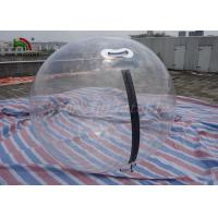 2m Imported Zipper Inflatable Water Walking Ball Transparent 1.0mm PVC / TPU