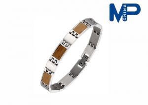 China Titanium Bio magnetic  Metal Bracelet Wrist Strap dressed in Engagement / Anniversary on sale