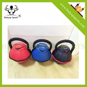 China Sand Iron Soft Adjustable Kettlebell For Hot Selling on sale