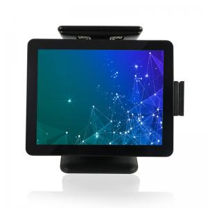 China 1024×768 Multi Touch TFT LCD Screen POS System PC on sale