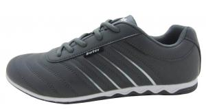 China D.K grey color sneaker shoes of men,simple design but comfortable wear experience on sale
