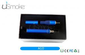 China 700 puffs Pen E Cigarette 2.1ml AGO Dry Herb Vaporizer 1100mah LED Battery on sale