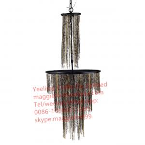 China YL-L1028 2017 new product Luxury Hotel interior Modern Chandelier light, Chain chandelier on sale